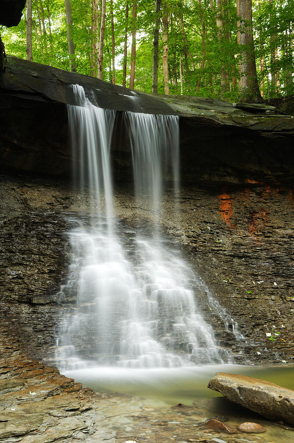 Ohio Photograph - Blue Hen Falls by Eric Foltz
