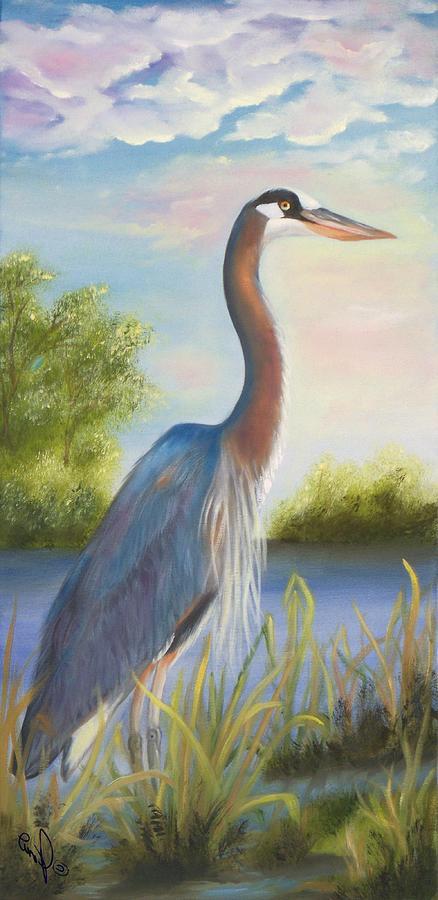 Blue Heron by Joni McPherson