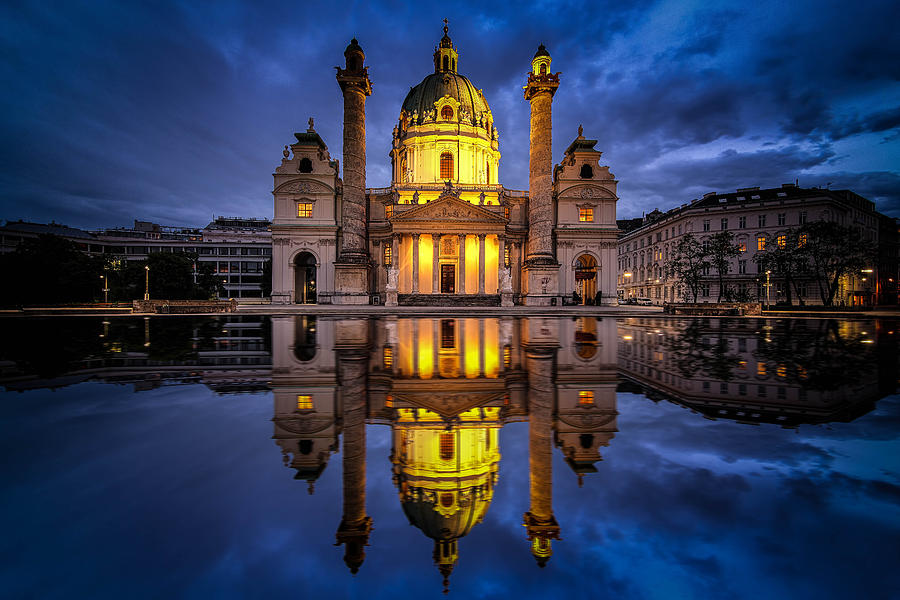 Blue Hour at Karlskirche by Kevin McClish
