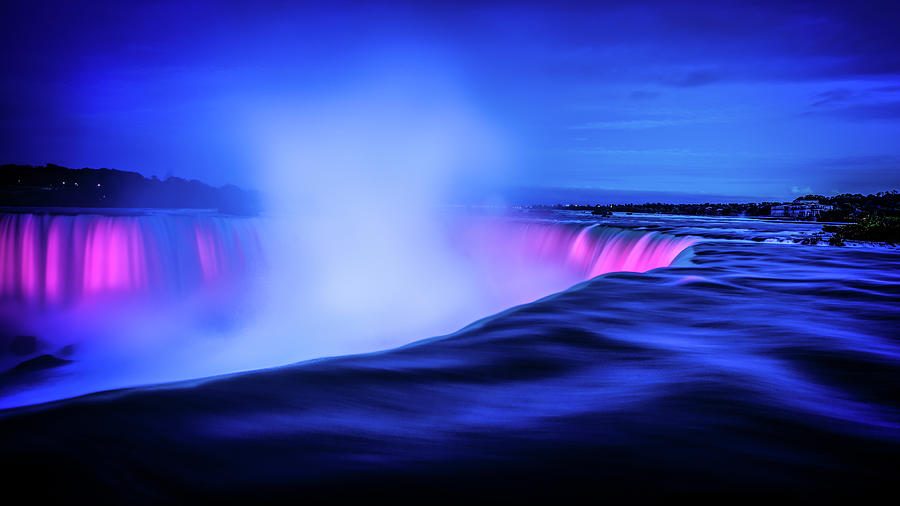 Blue Hour at Niagara Falls by Kevin McClish