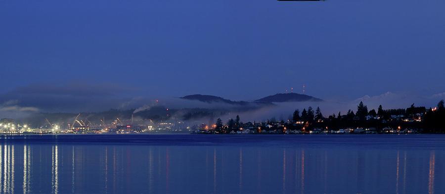 Blue Hour Beauty with Fog by E Faithe Lester