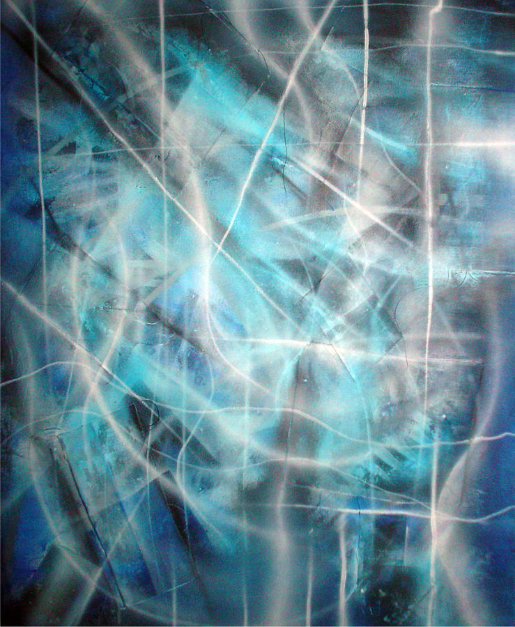 Blue Painting - Blue II by Leigh Odom