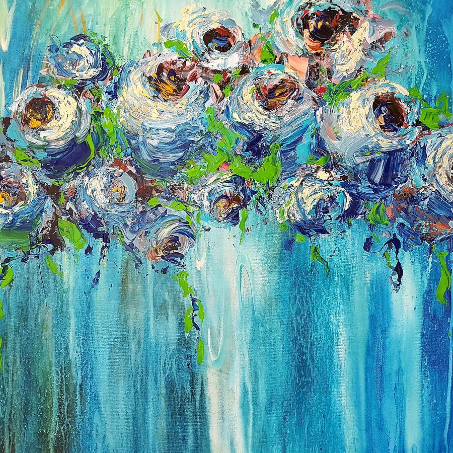 BLUE ILLUSION by Kathy  Karas