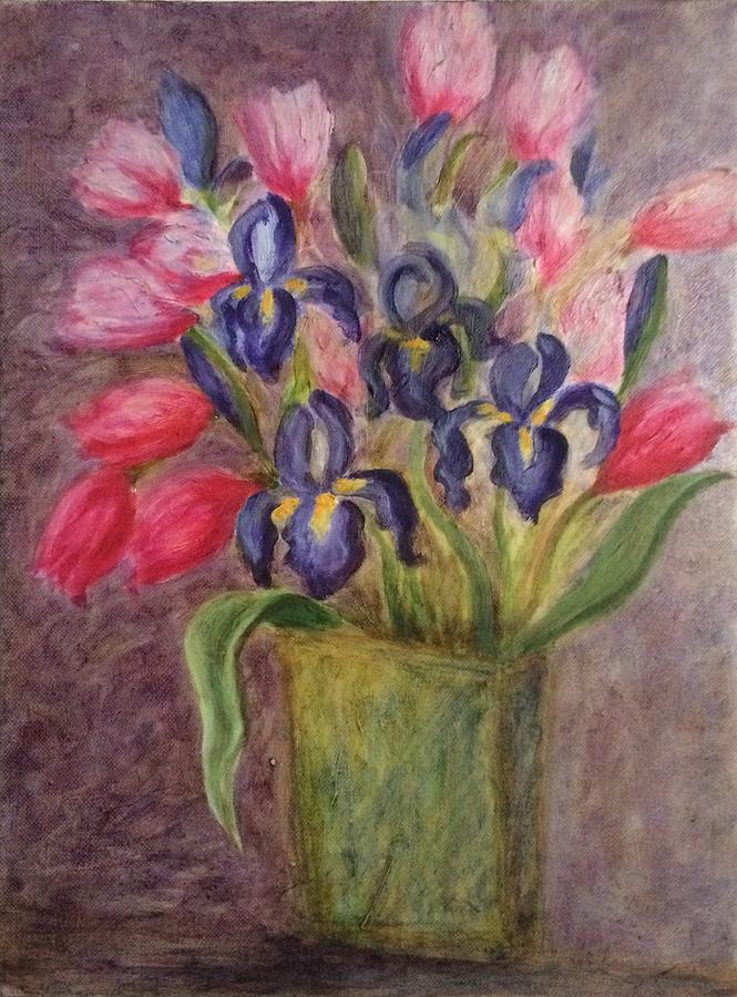 Blue Iris by Paula Emery