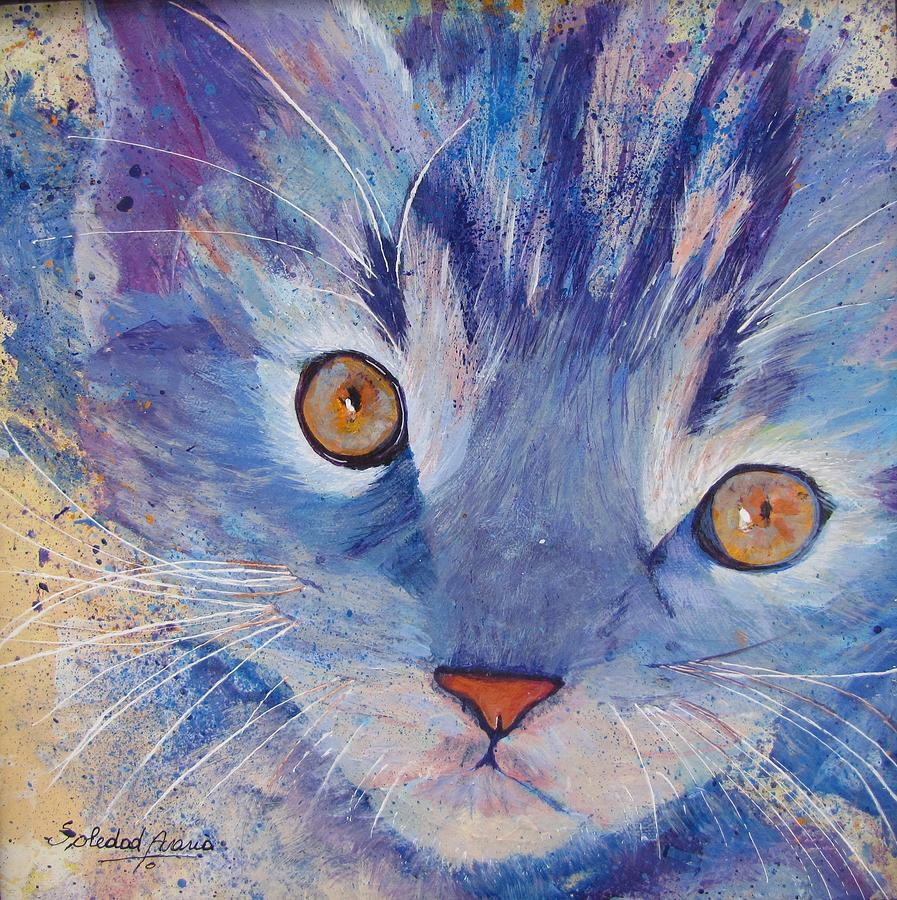 Blue Kitty by Sole Avaria