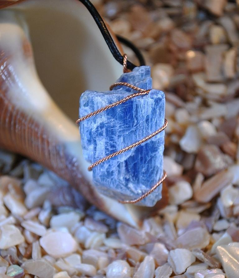 Stone Jewelry - Blue Kyanite 2 - Sold by Judy Wood