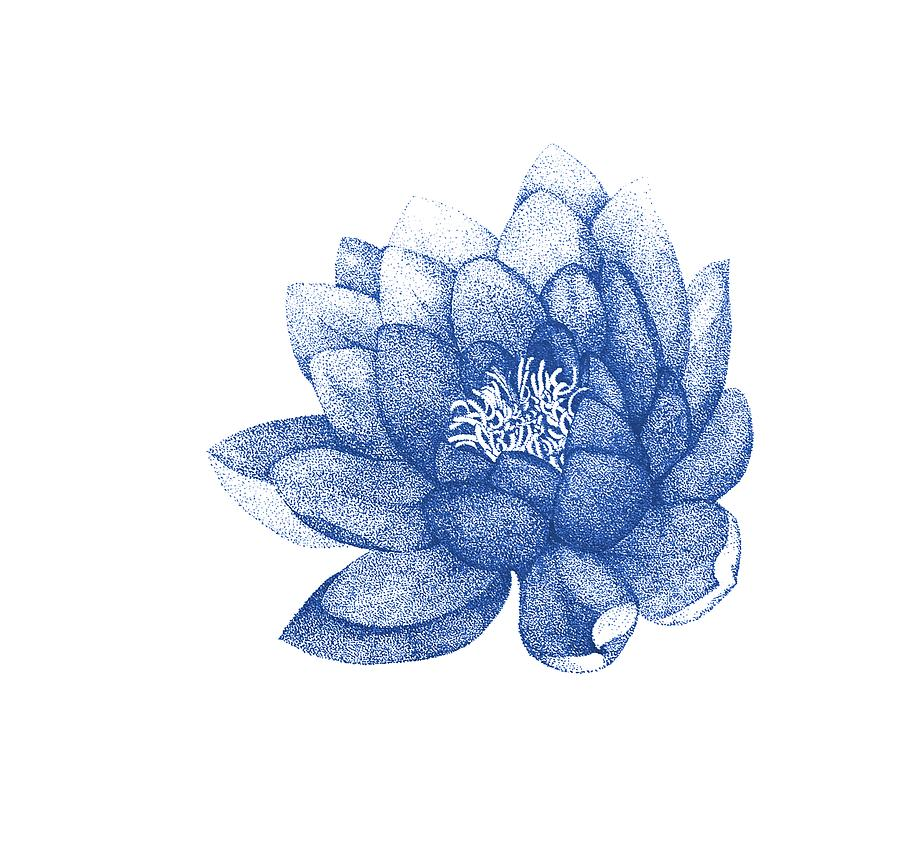 Blue lotus flower painting for home decor painting by jurgadream jurgita lotus painting blue lotus flower painting for home decor by jurgadream jurgita mightylinksfo