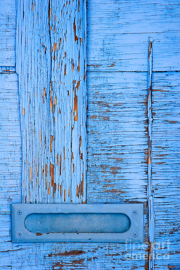 Colorado Photograph - Blue Mail by Mark Braun