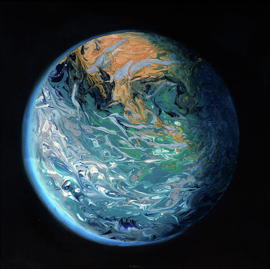 Blue Marble Earth by Catherine Twomey