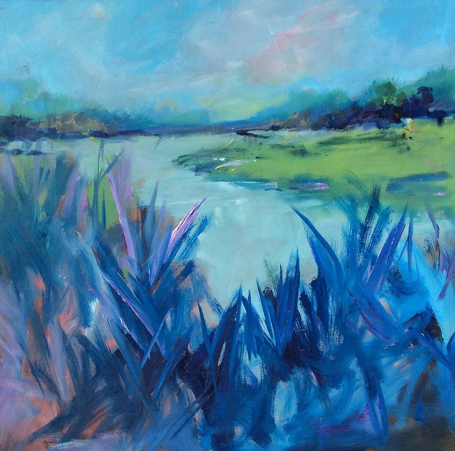 Blue Marsh by Karen Ann Patton