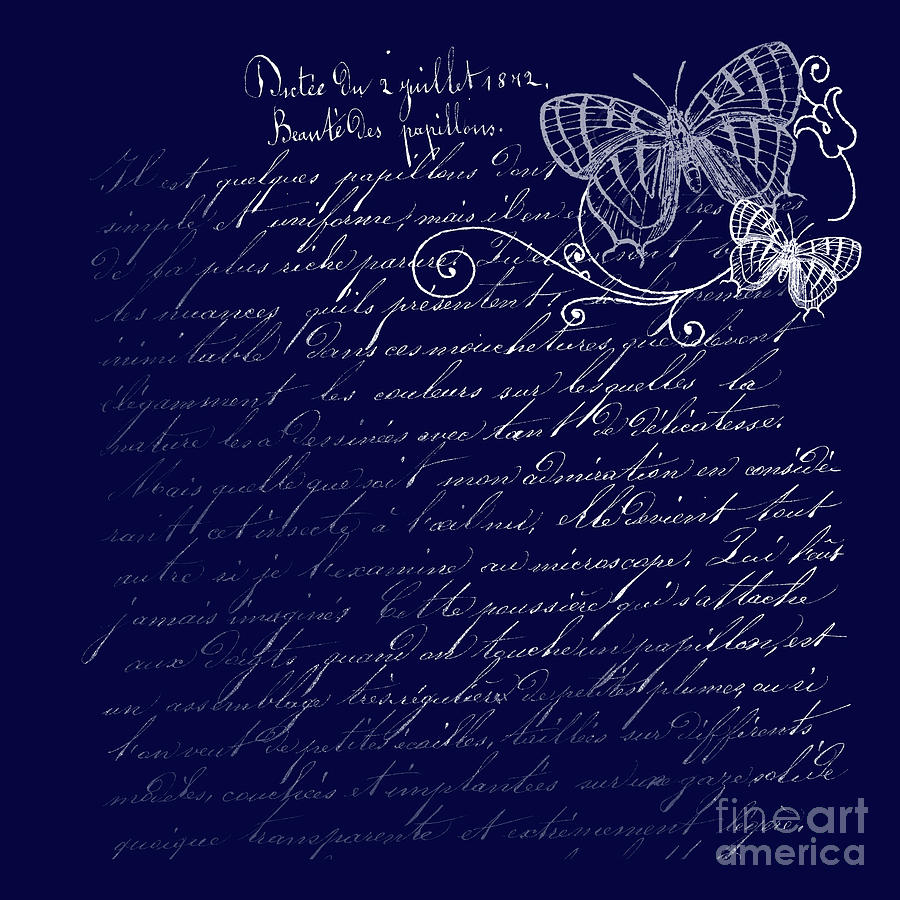 Blue Photograph - Blue Midnight Butterfly by Sharon Mau