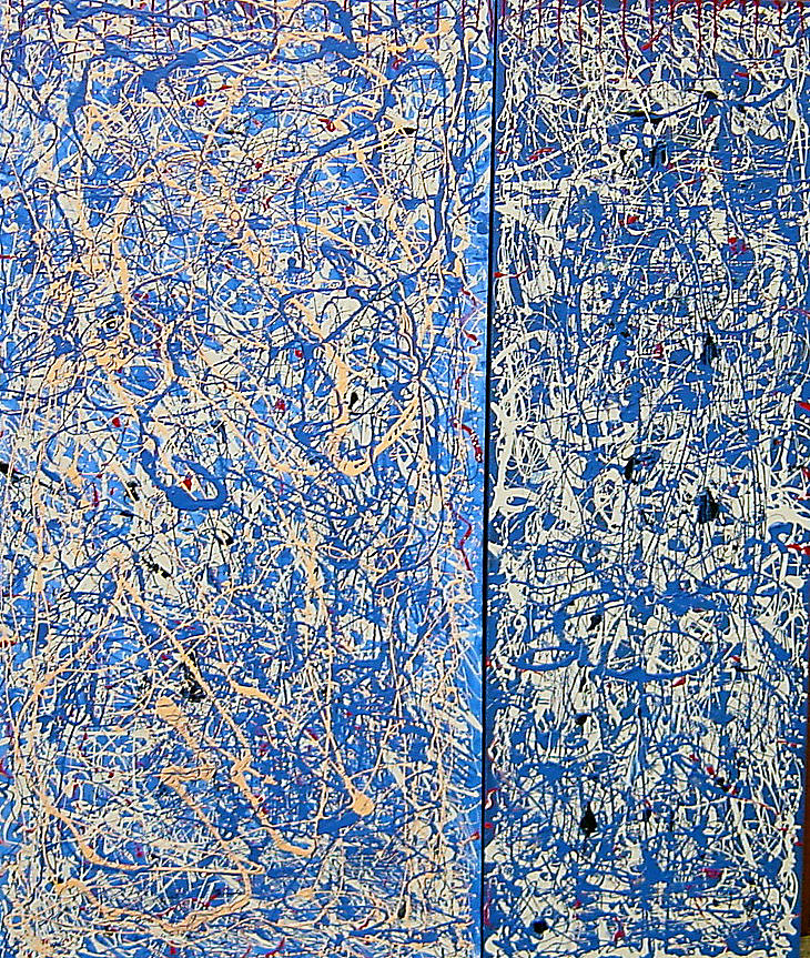 Blue mood Painting by Biagio Civale