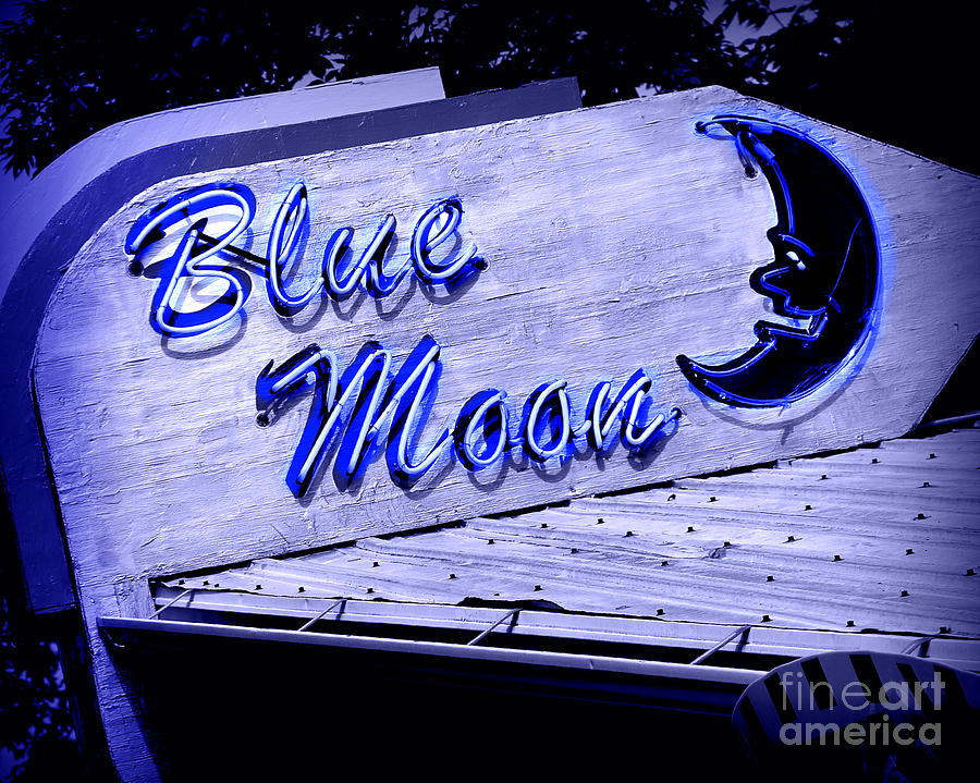 Blue Moon Photograph - Blue Moon by Perry Webster