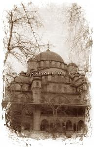 Mosque Photograph - Blue Mosque 1  Istanbul by K Randall Wilcox