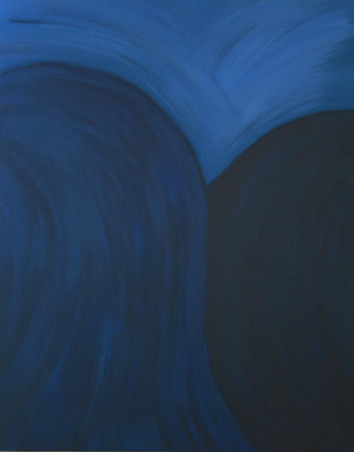 Blue Painting - Blue No. 1 by Karen Fowler