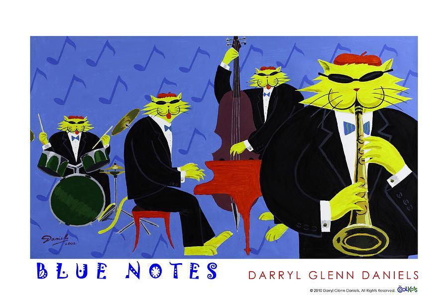 Blue Notes by DG Daniels