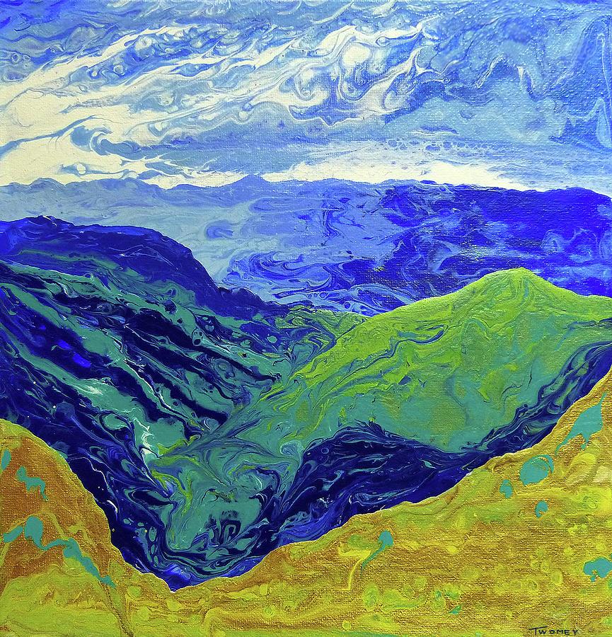 Blue Ridge Cloud Shadows 1.0 by Catherine Twomey