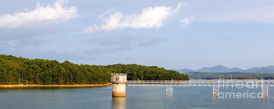 Blue Ridge Dam by Michael Waters