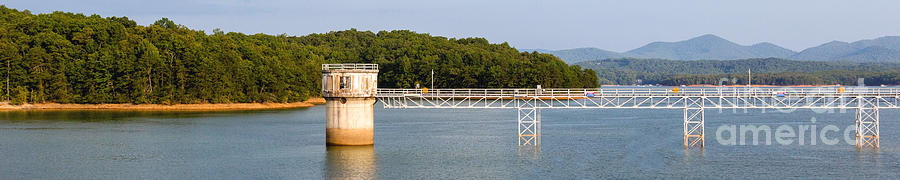 Blue Ridge Dam - Panoramic by Michael Waters