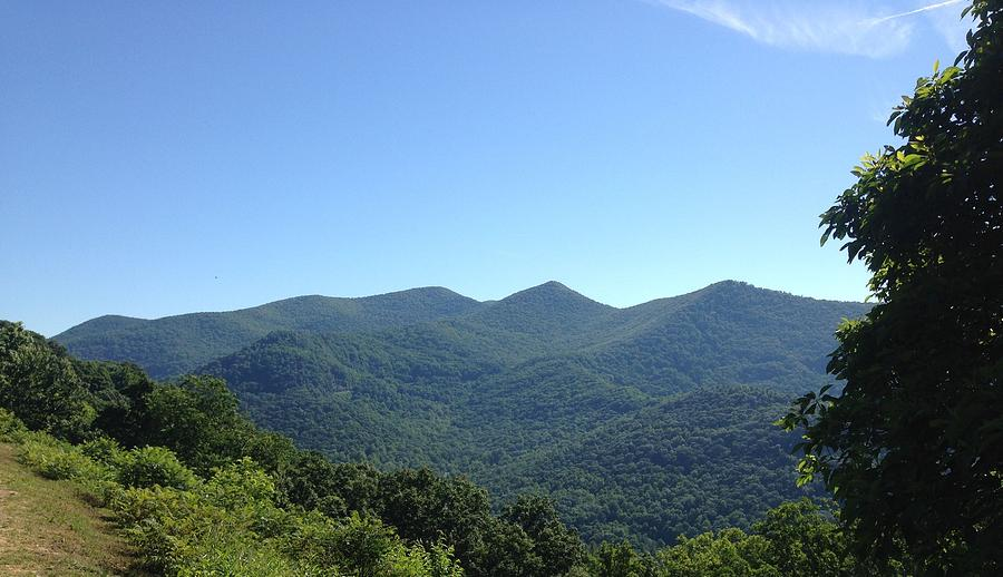 Blue Ridge Mountains by Francis Chester