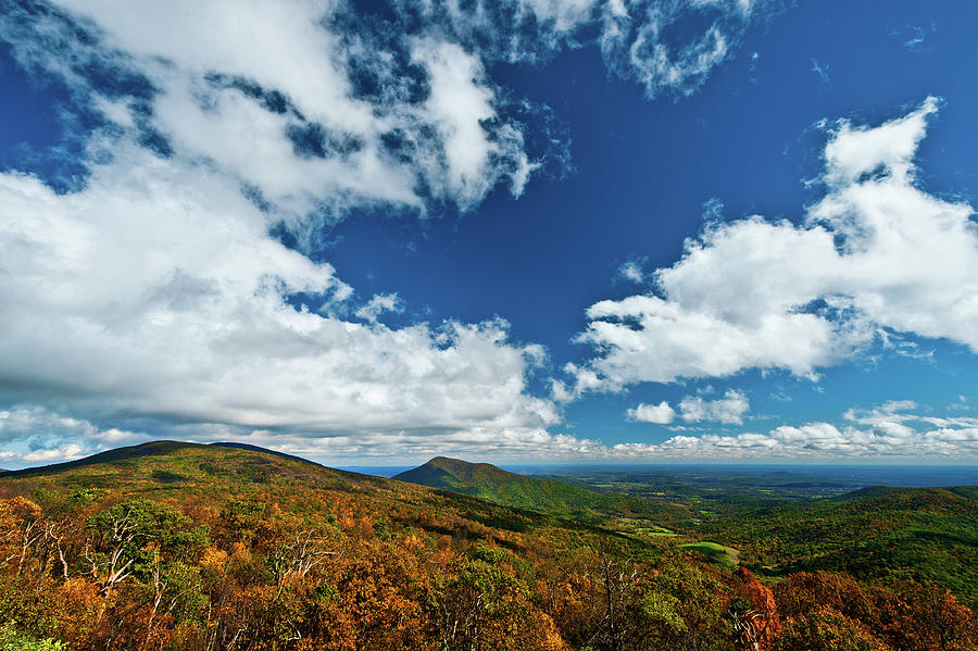 Blue Ridge Mountains In The Fall 2 Photograph