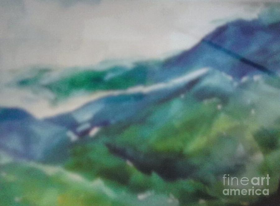 Blue Ridge Mountains Painting by Patricia Ducher