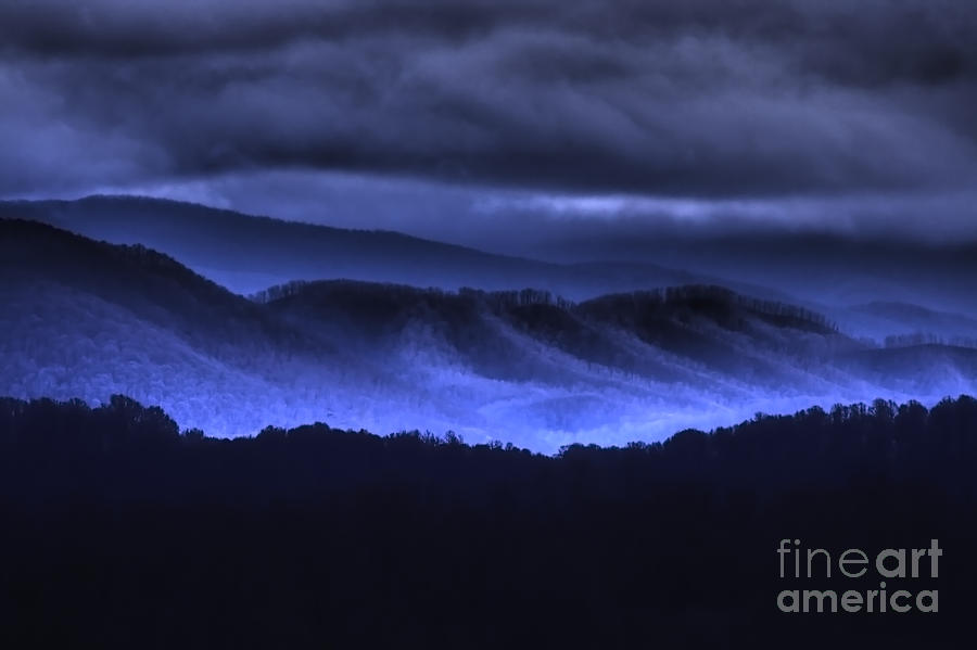 Blue Ridge Mountains by Photography by Laura Lee