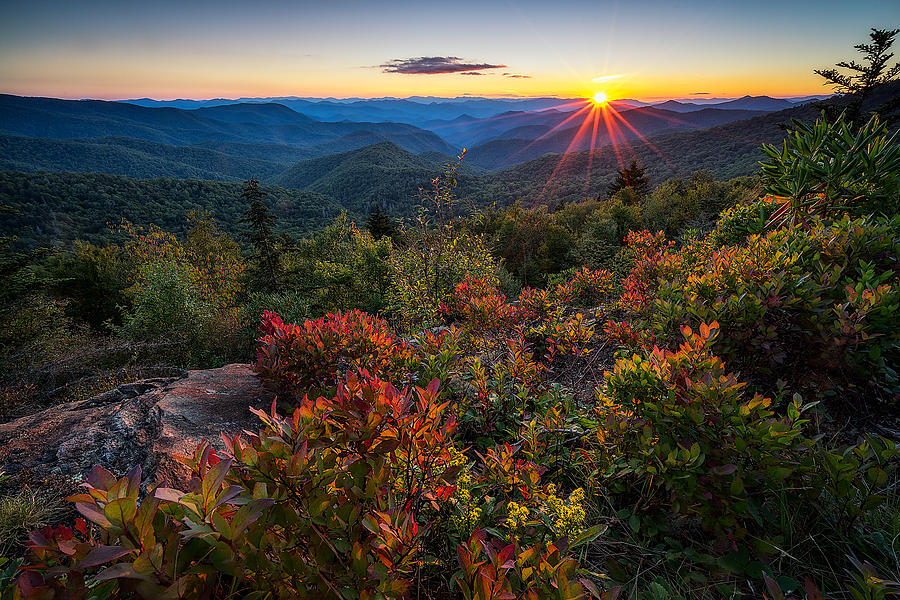 Asheville Photograph - Blue Ridge Parkway - Chill Of An Early Fall by Jason Penland