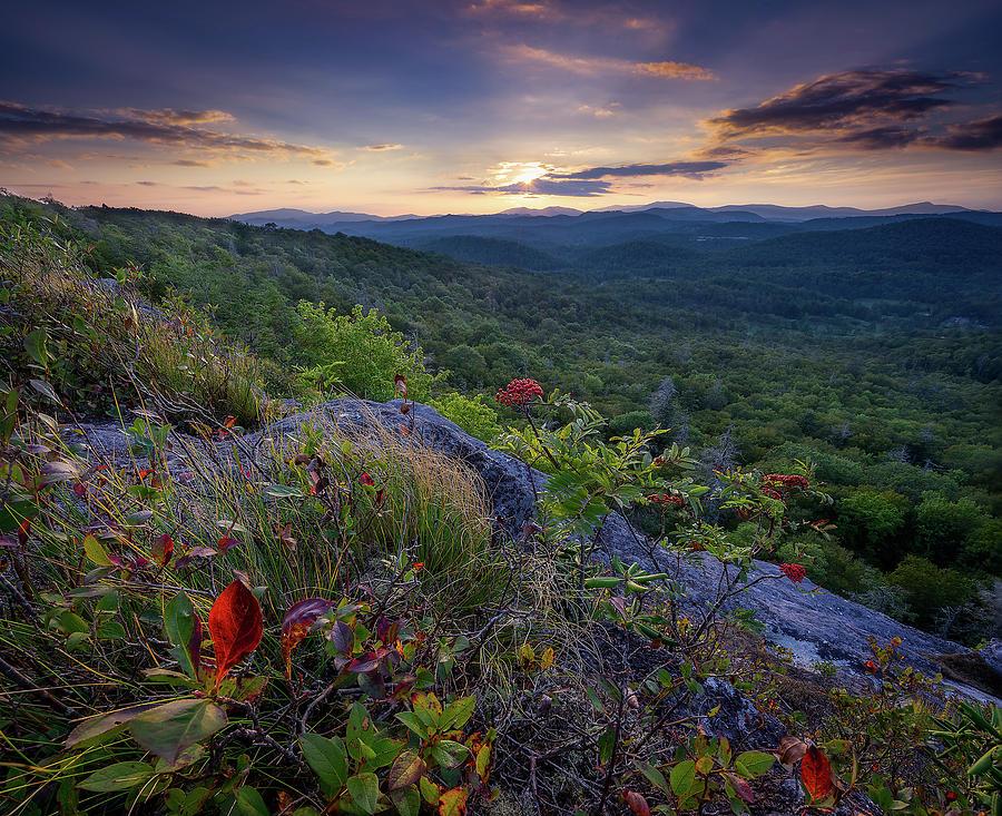 Blue Ridge Parkway Photograph - Blue Ridge Parkway - Hint Of Autumn  by Jason Penland