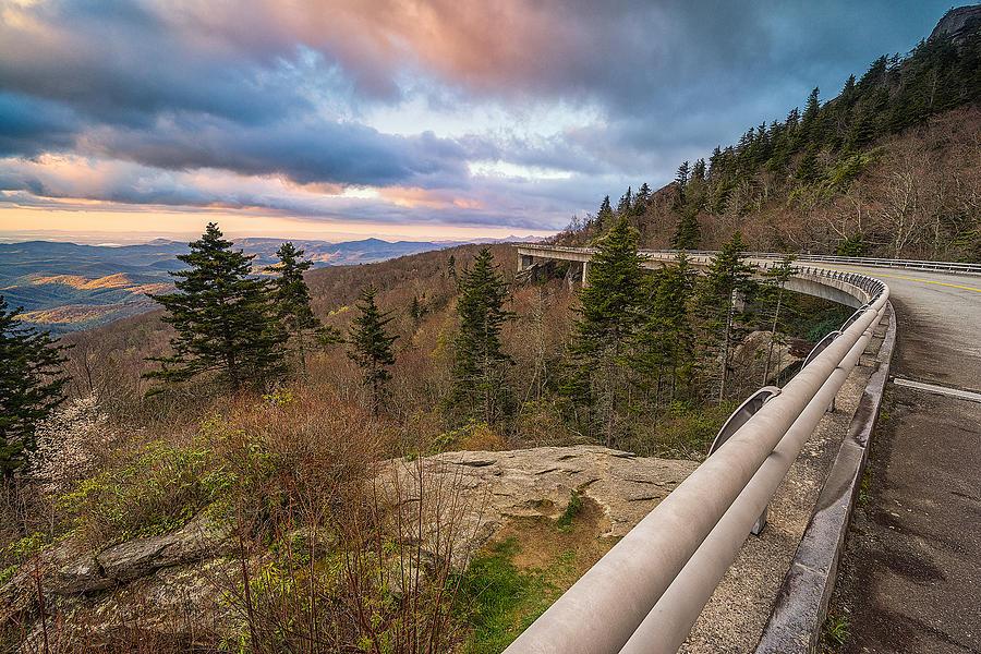 Blue Ridge Parkway Photograph - Blue Ridge Parkway - Road To Pineola  by Jason Penland