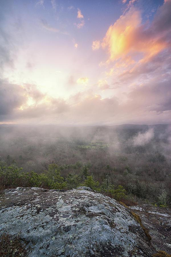 Light Photograph - Blue Ridge Parkway - The Light  by Jason Penland