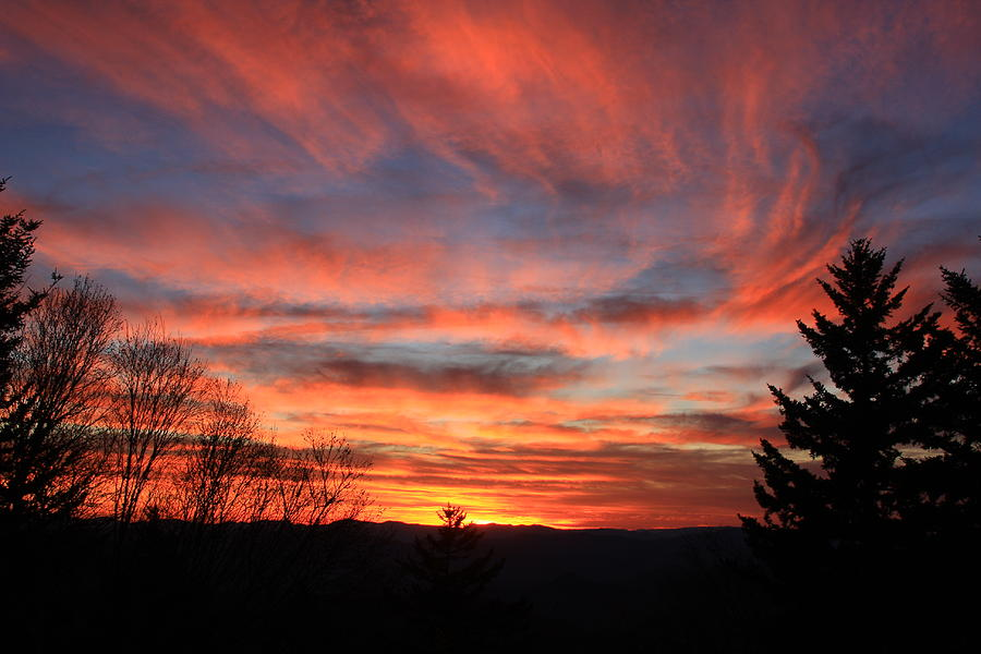 Blue Ridge Sunset Photograph