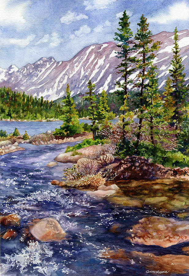 Blue River by Anne Gifford