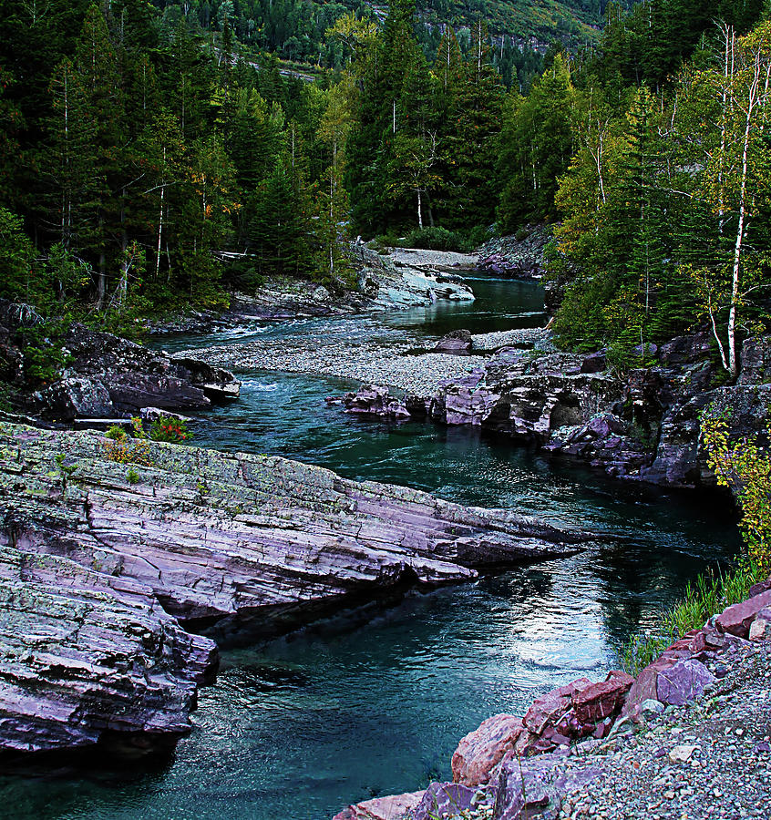 River Photograph - Blue River by Joseph Noonan