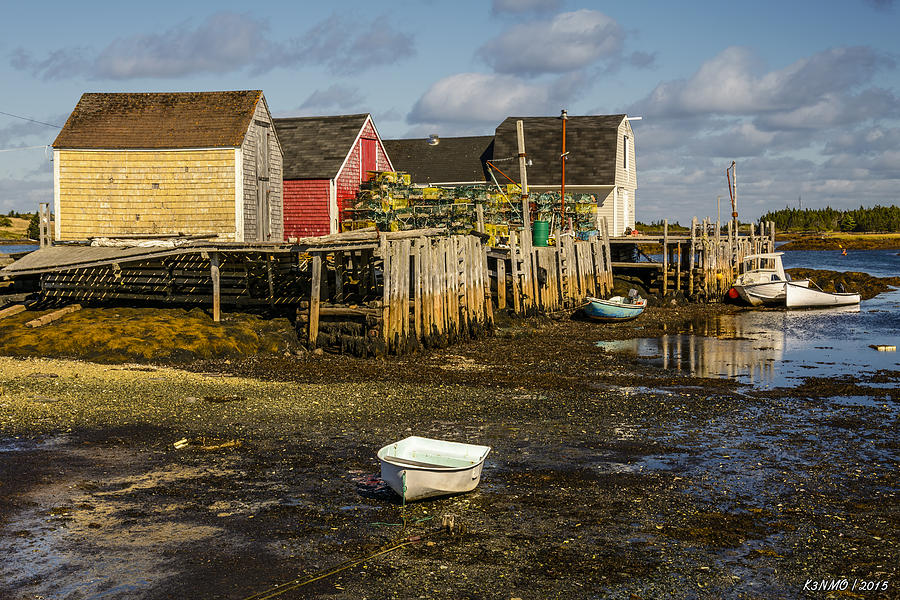 Lunenburg Photograph - Blue Rocks, Nova Scotia by Ken Morris