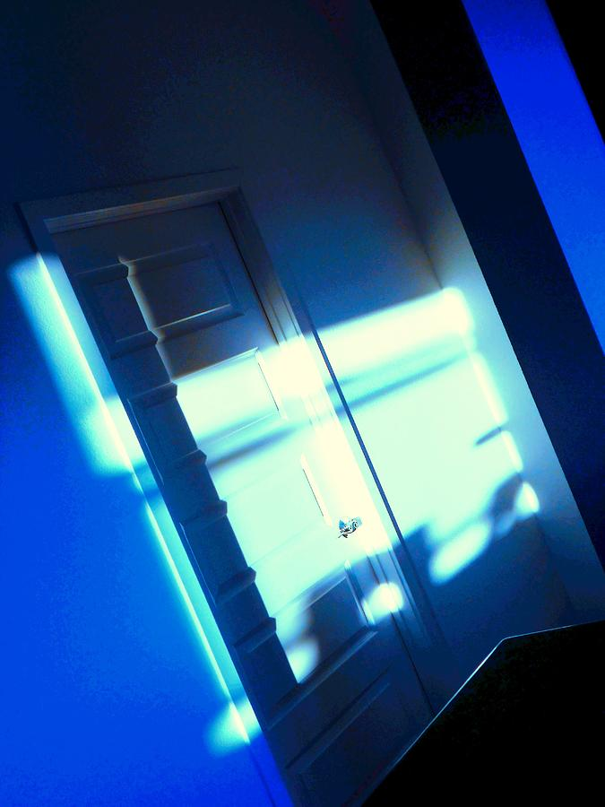Mood Photograph - Blue Room by Dietmar Scherf