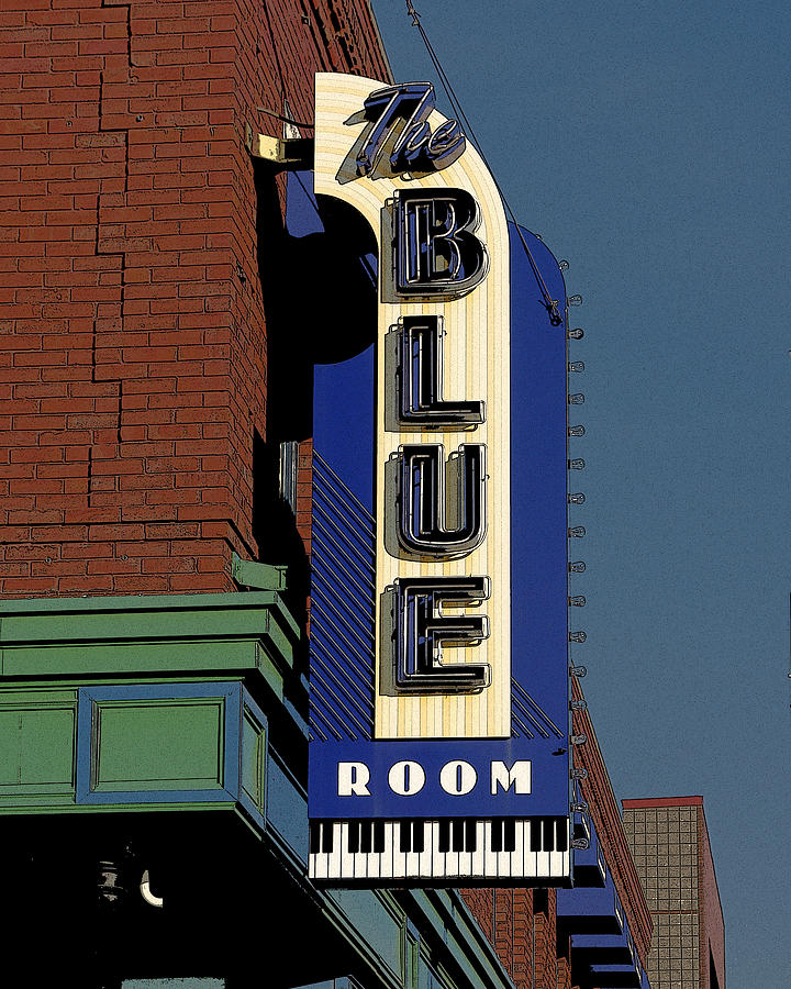 Blue Room Photograph - Blue Room by Jim Mathis