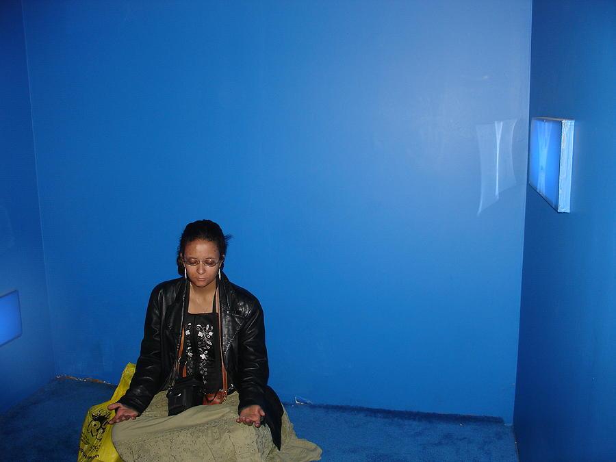 Meditation Photograph - Blue Room Meditation by Sarita Brooks
