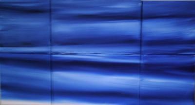 Blue Sea Painting by Suzana Dancks