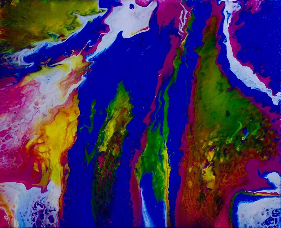 Blue Sea Painting