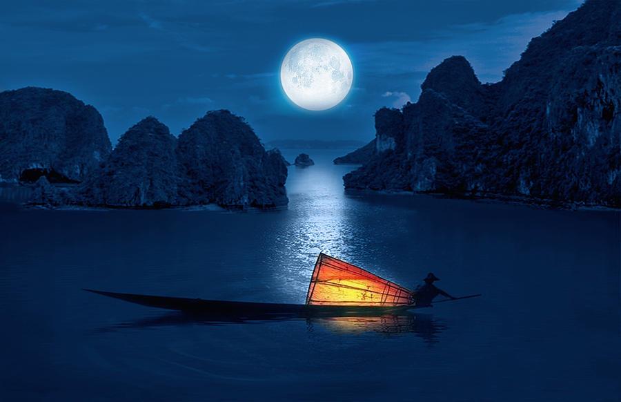 Blue Serenity by Art Spectrum