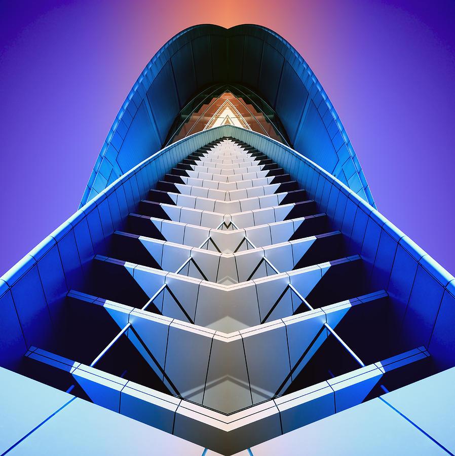 Blue Photograph - Blue Shift by Wayne Sherriff