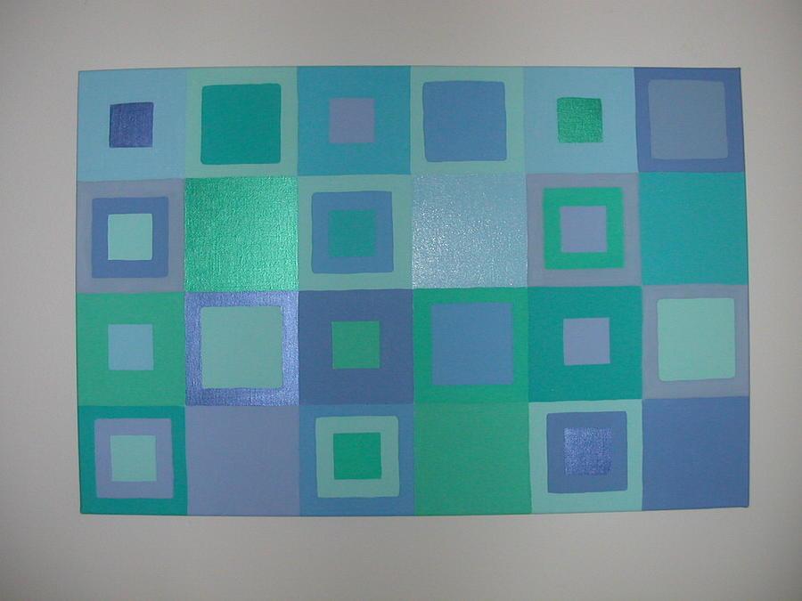 Blue Skies Painting by Gay Dallek
