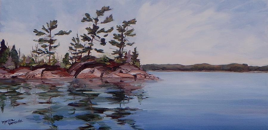 Original Painting - Blue Skies by Monica Ironside