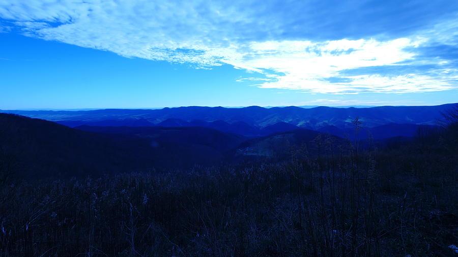 Blue Sky Blue Mountains Photograph by Bill Helman