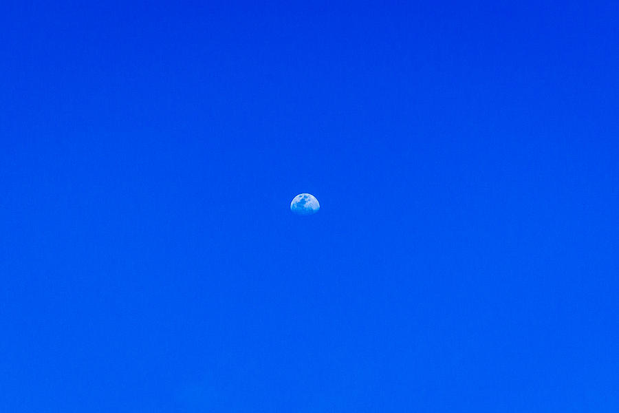 Hawaii Photograph - Blue Sky Moon by Chris and Wally Rivera