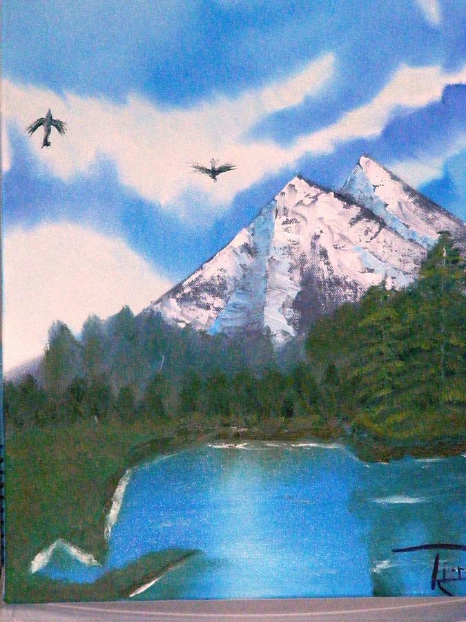 Landscape Painting - Blue Sky by Reginald Pierre