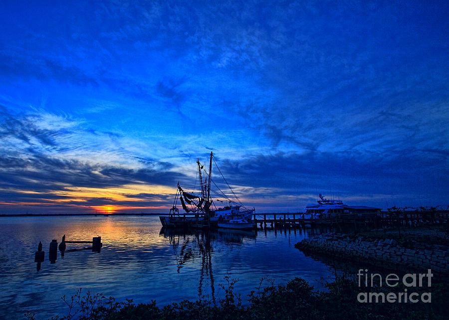 Blue Sky Sunset by Dave Bosse