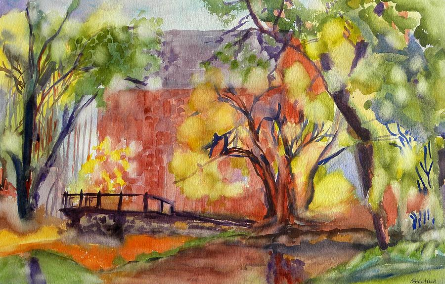 Water Painting - Blue Springs Mill by Patricia Bigelow