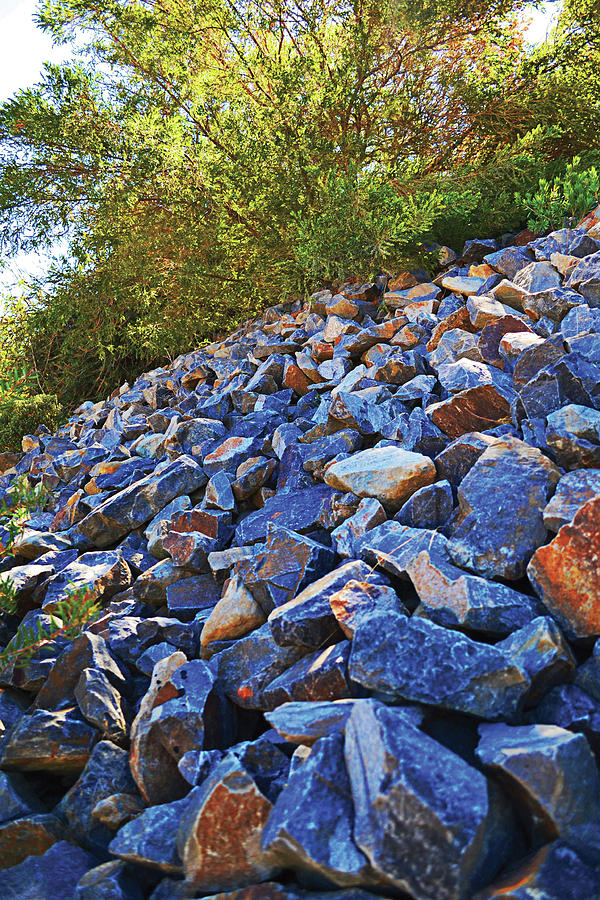 Blue Stone Hill Photograph